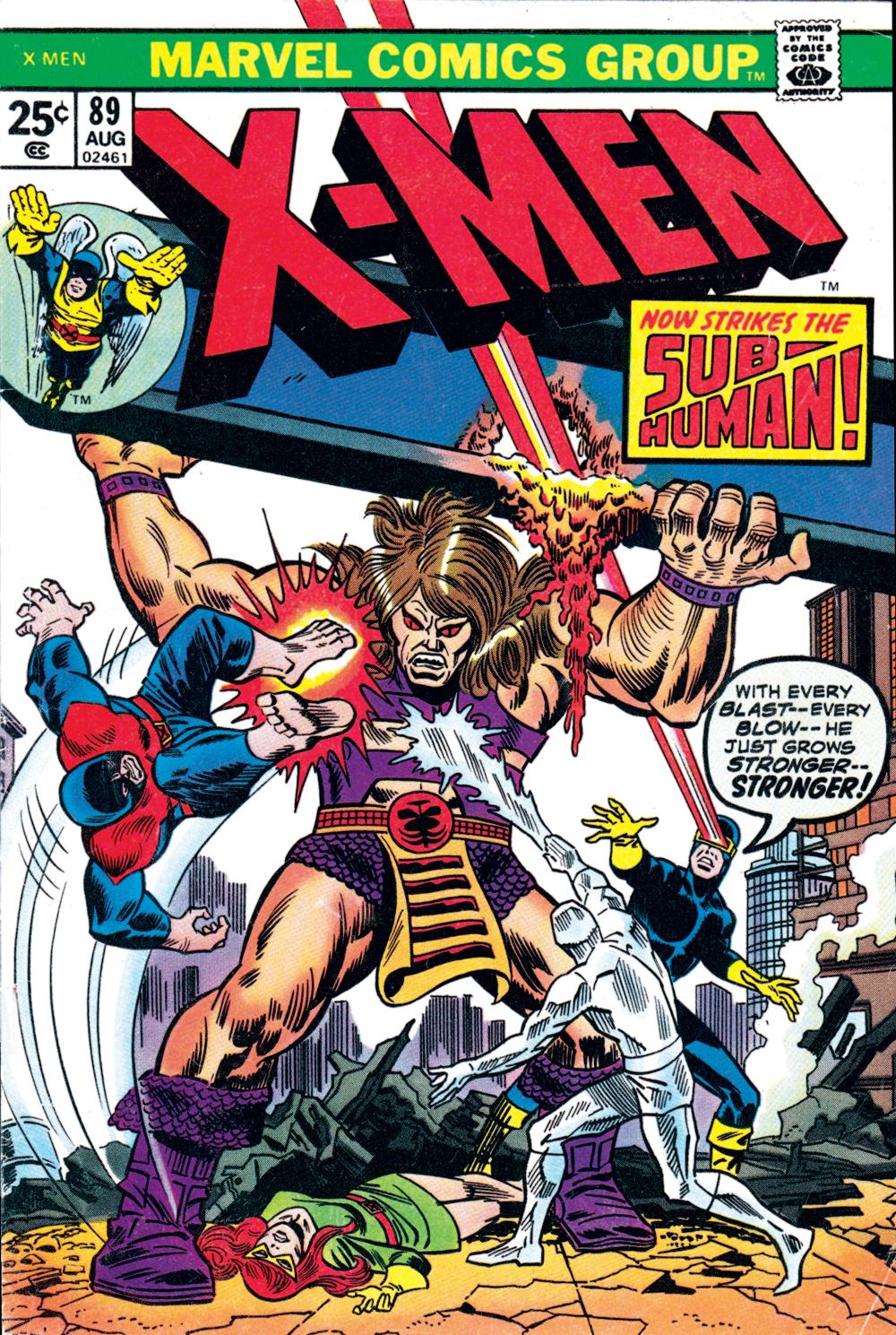 Uncanny X-Men (1963) #89