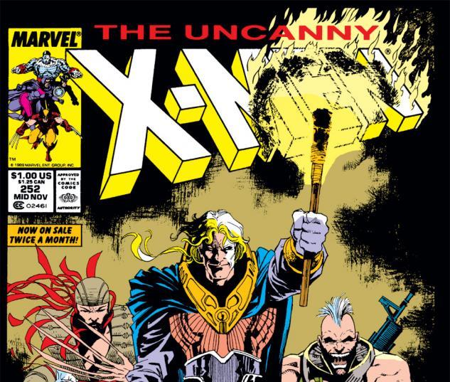 Uncanny X-Men (1963) #252 Cover