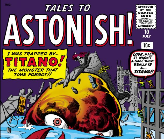 Tales to Astonish (1959) #10 Cover