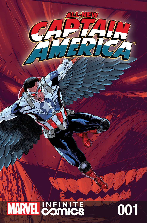 All-New Captain America: Fear Him Infinite Comic (2014) #1