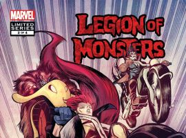 Legion of Monsters (2011) #2 Cover
