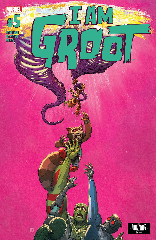 I Am Groot (2017) #5