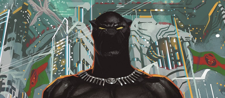 Wakanda Goes Galactic in Black Panther #1 this M
