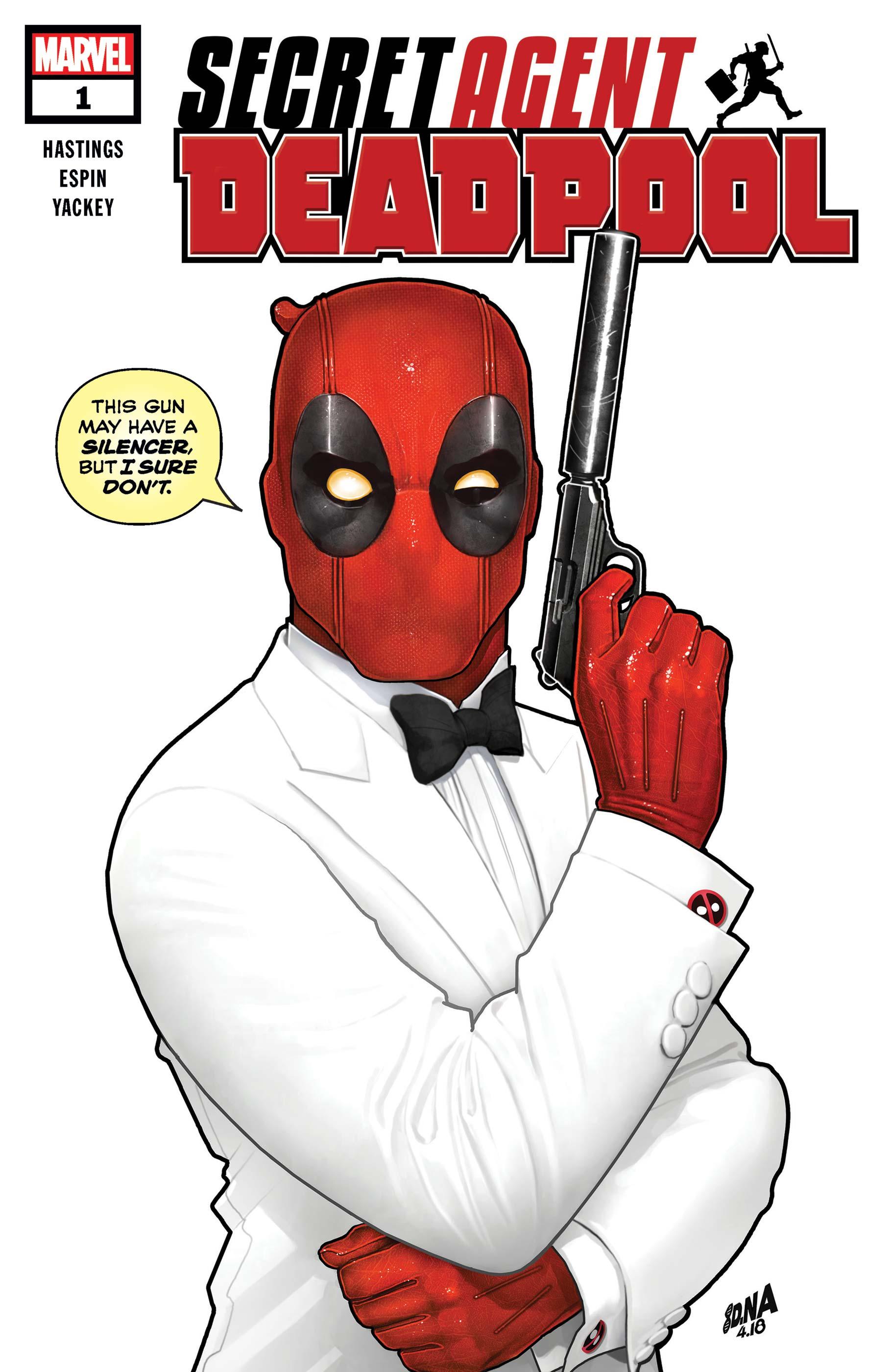 Deadpool: Secret Agent Deadpool (2018) #1