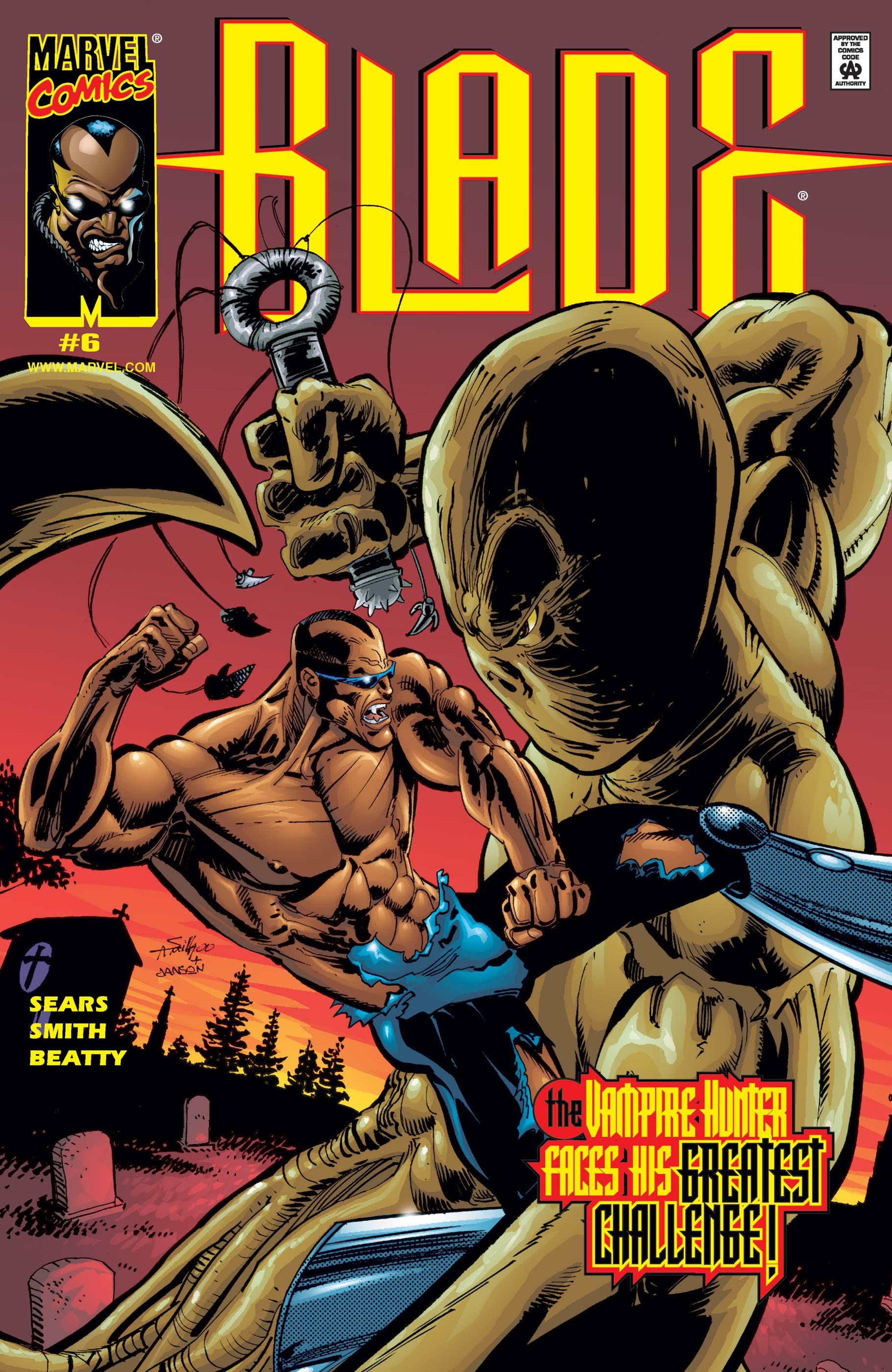 Blade: Vampire Hunter (1999) #6