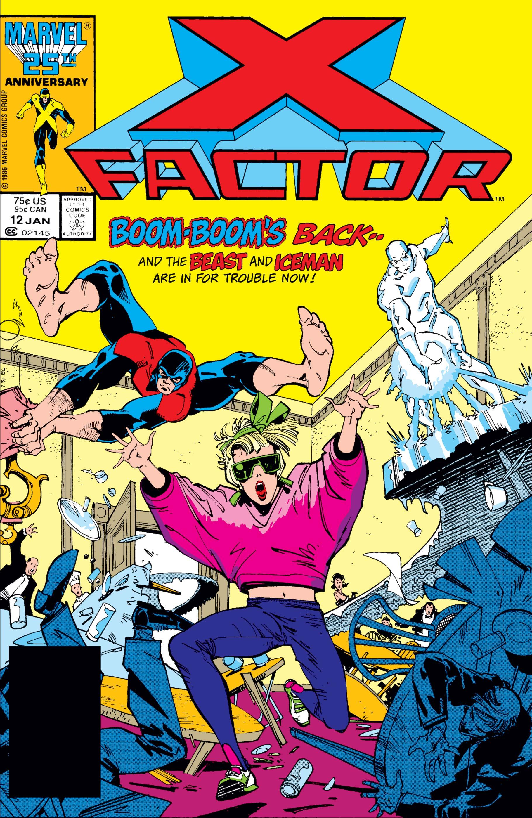 X-Factor (1986) #12