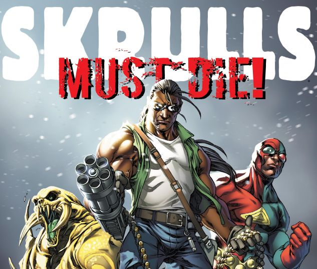 cover from Skrulls Must Die! – the Complete Skrull Kill Krew (2015)