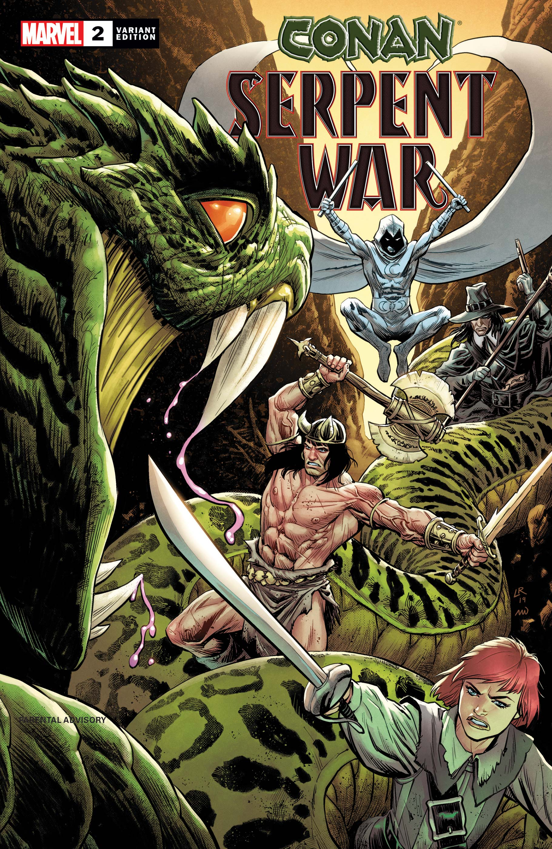 Conan: Serpent War (2019) #2 (Variant)