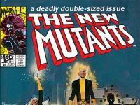 NEW MUTANTS #21 cover by Bill Sienkiewicz