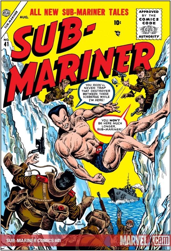 Sub-Mariner Comics (1941) #41