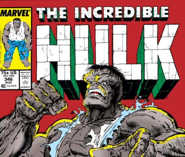 INCREDIBLE HULK #346 COVER