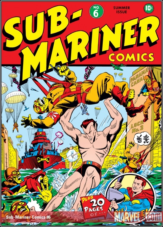 Sub-Mariner Comics (1941) #6