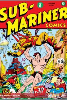 Sub-Mariner Comics #6