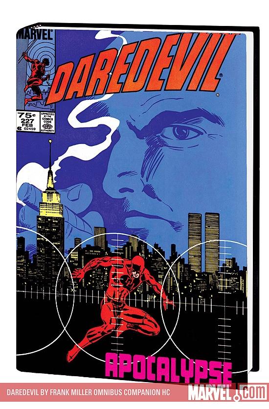 Daredevil by Frank Miller Omnibus Companion (Hardcover)