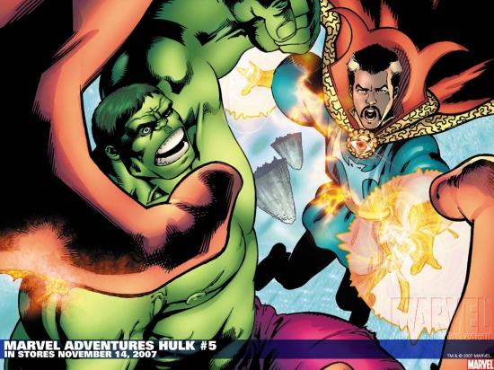 Marvel Adventures Hulk (2007) #5 Wallpaper