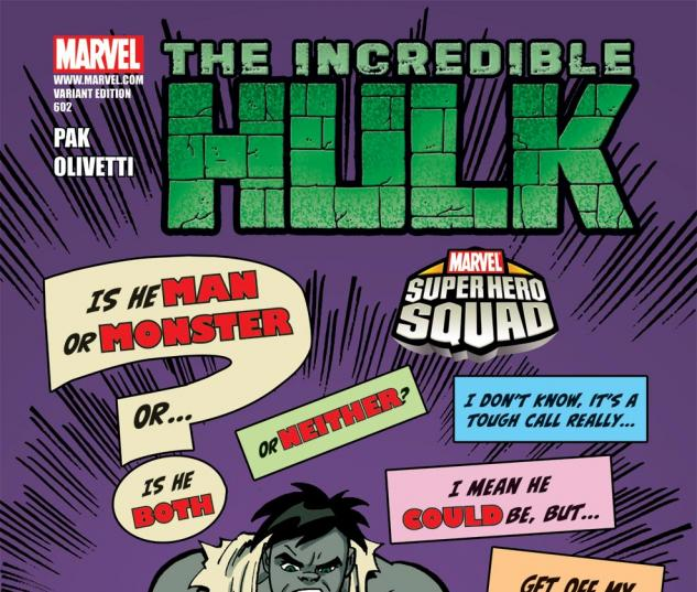 Incredible Hulks (2009) #602, SHS VARIANT