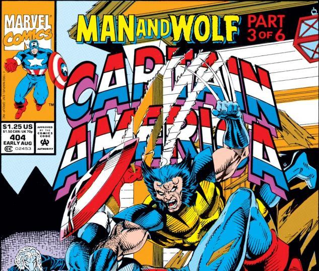 Captain America (1968) #404 Cover