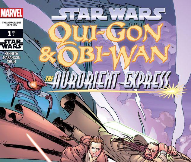 Star Wars: Qui-Gon & Obi-Wan - The Aurorient Express (2002) #1