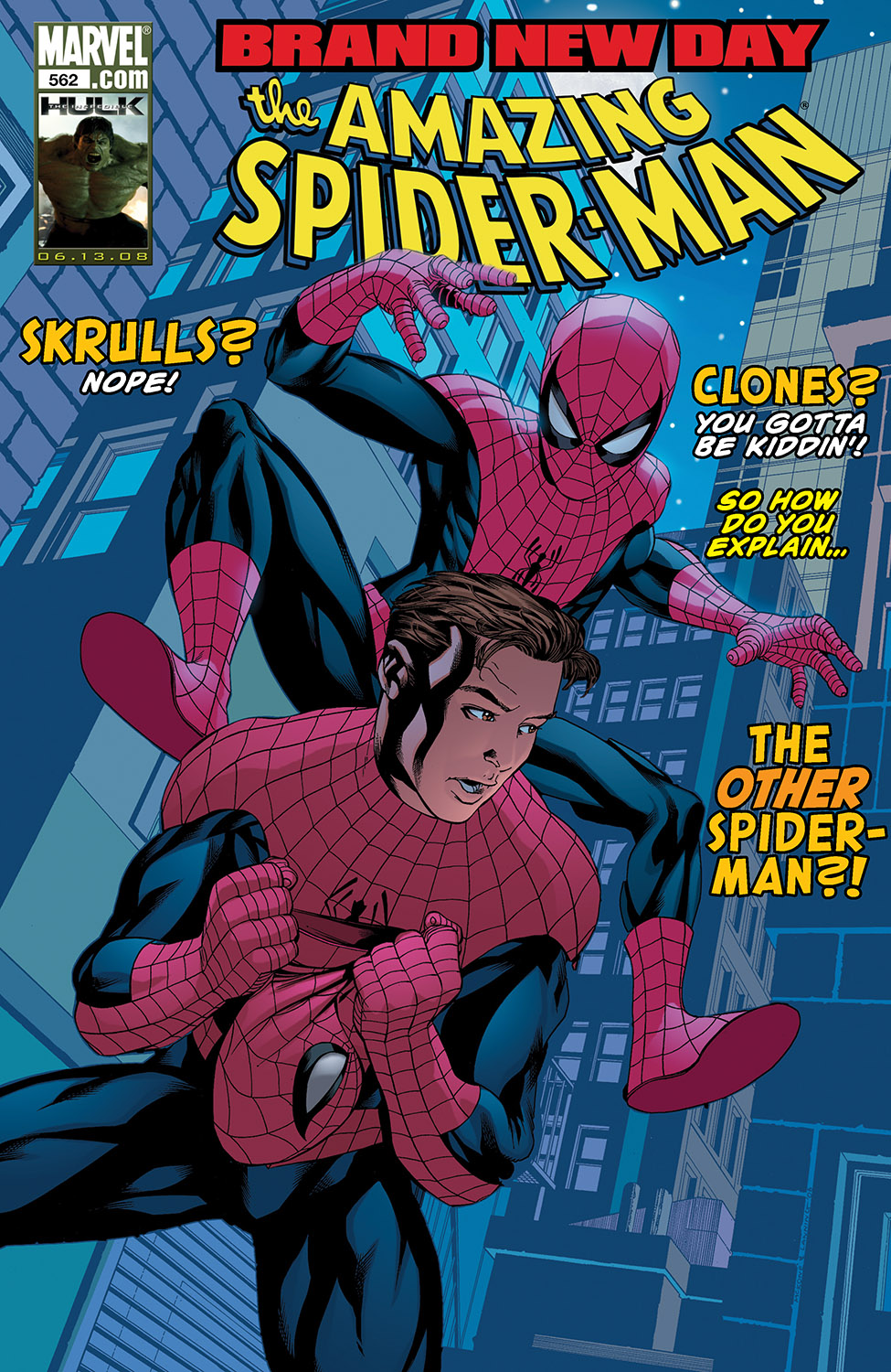 Amazing Spider-Man (1999) #562