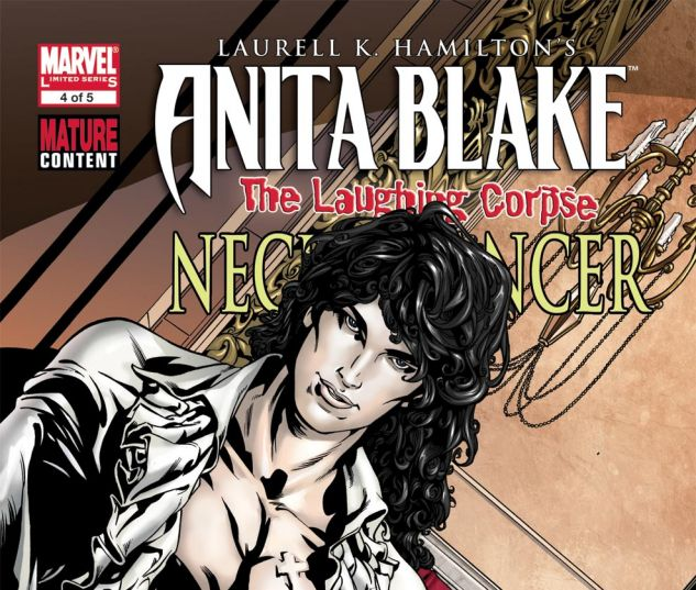 ANITA BLAKE: THE LAUGHING CORPSE - NECROMANCER (2009) #4 Cover