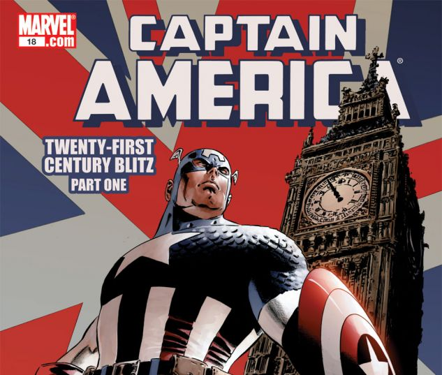 CAPTAIN AMERICA (2004) #18 Cover