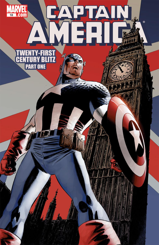 Captain America (2004) #18