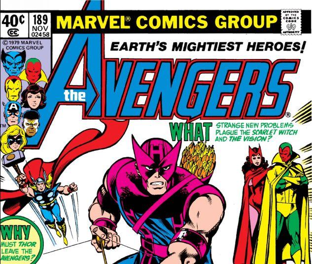 Avengers (1963) #189