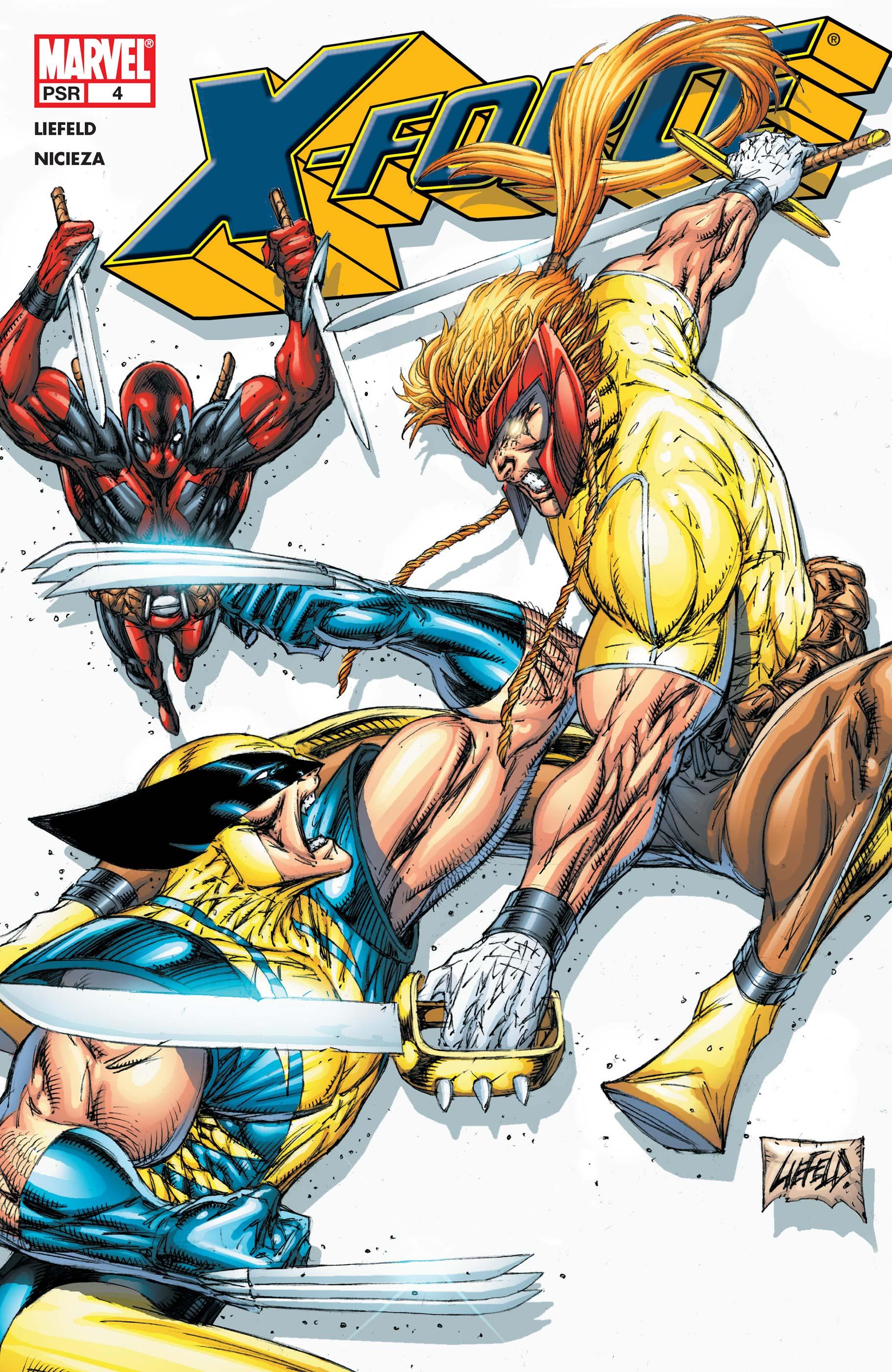 X-Force (2004) #4