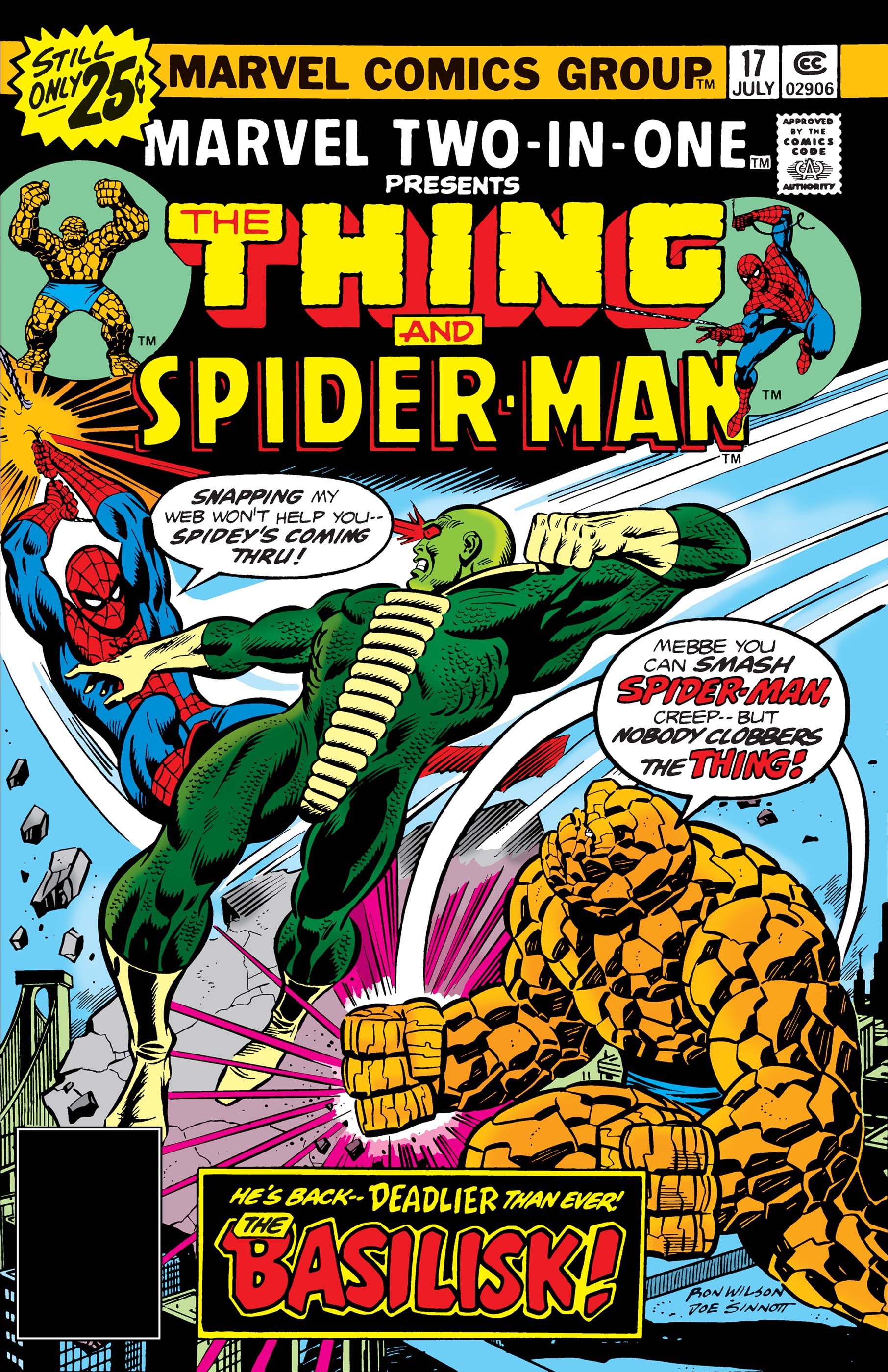 Marvel Two-in-One (1974) #17