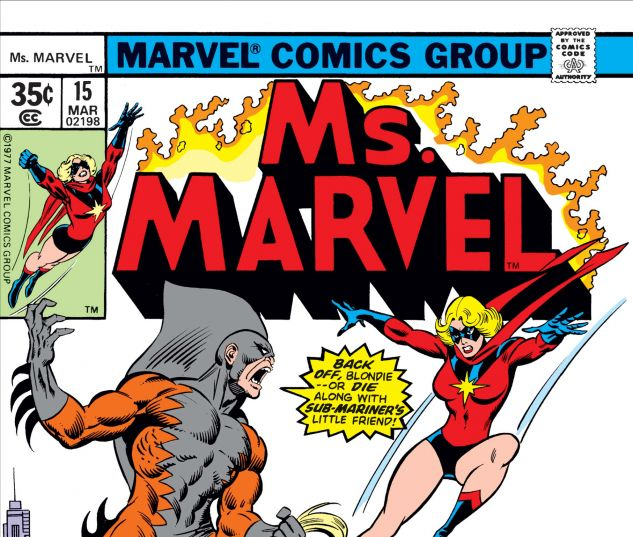 Cover for MS. MARVEL