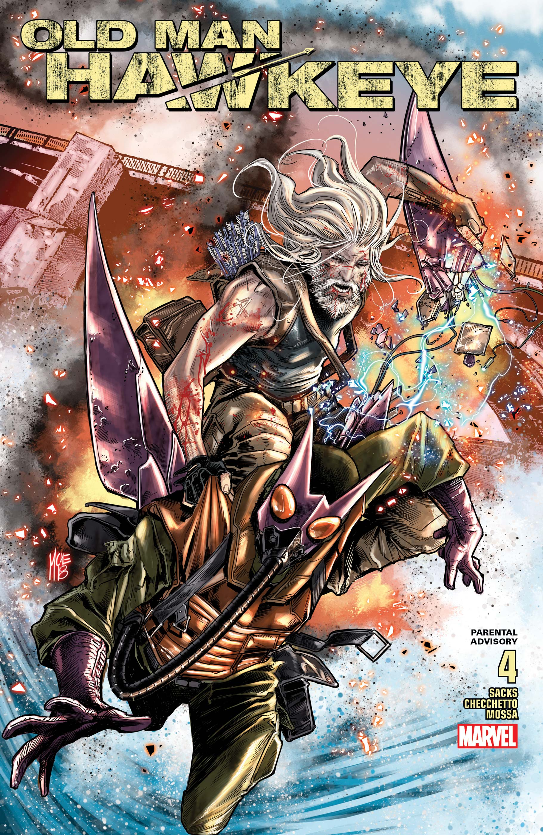 Old Man Hawkeye (2018) #4
