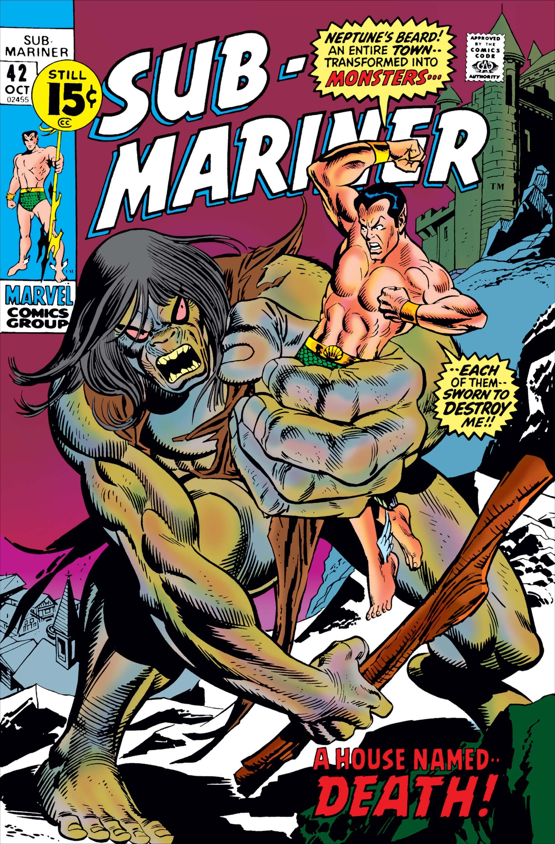 Sub-Mariner (1968) #42