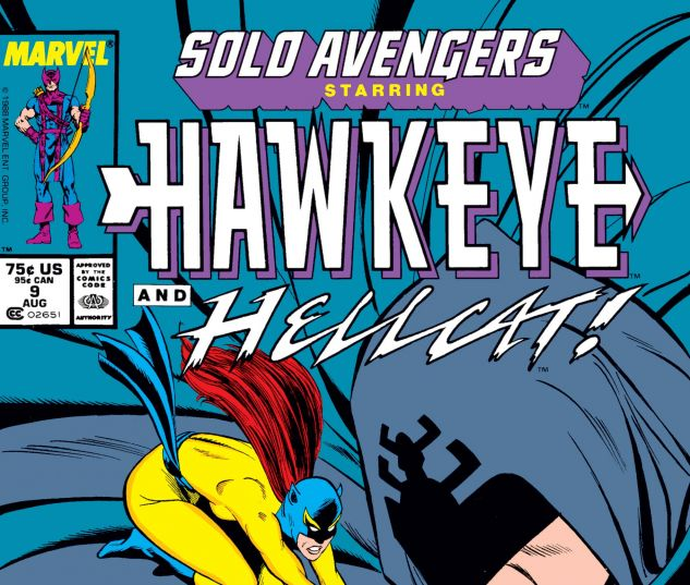 cover from Solo Avengers (1987) #9