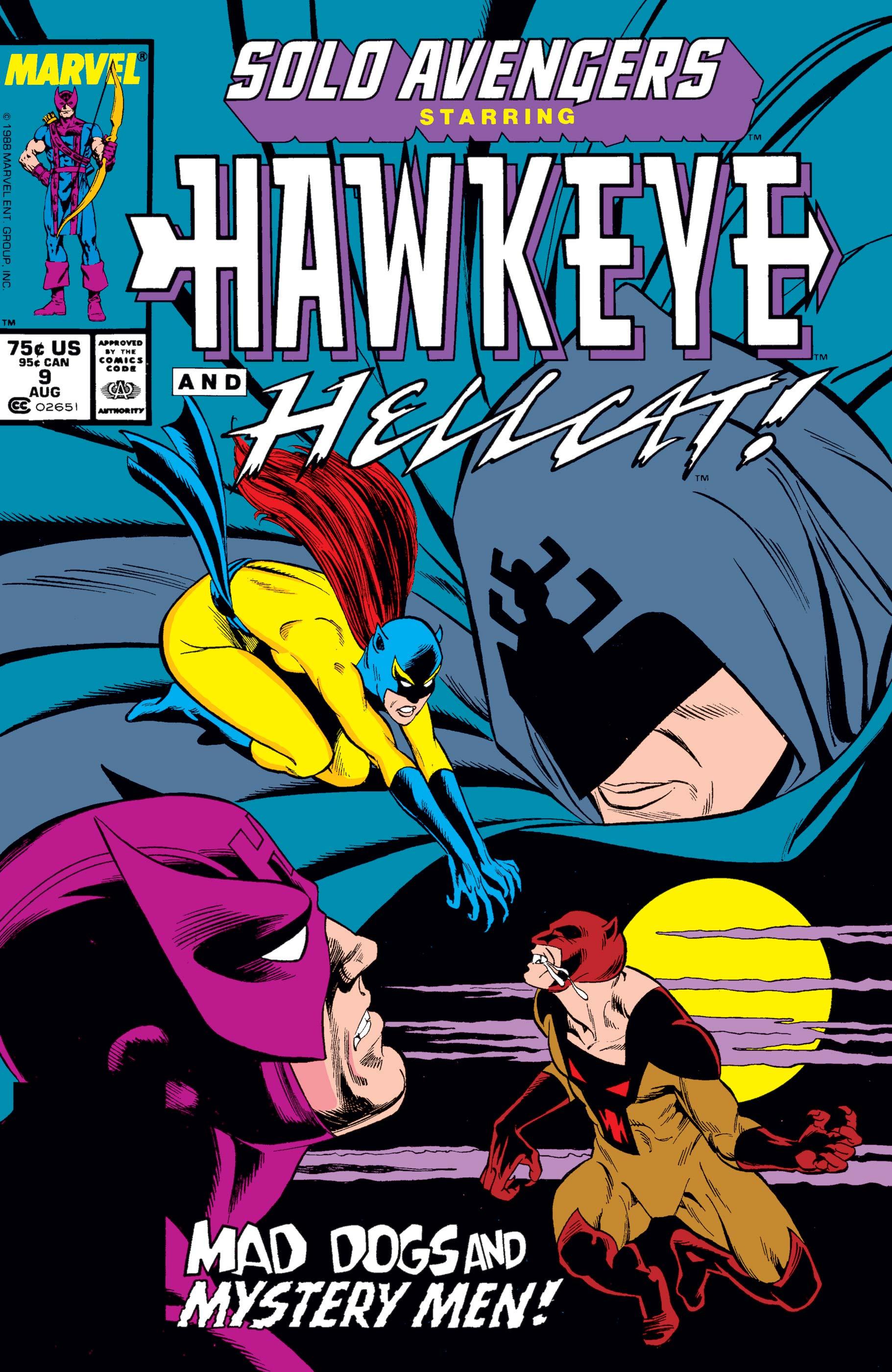 Solo Avengers (1987) #9