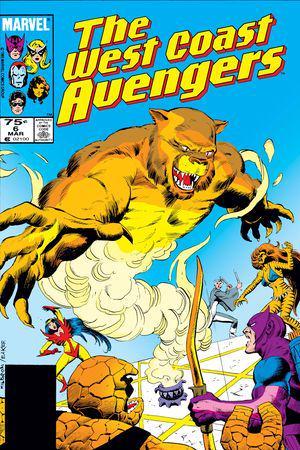 West Coast Avengers #6