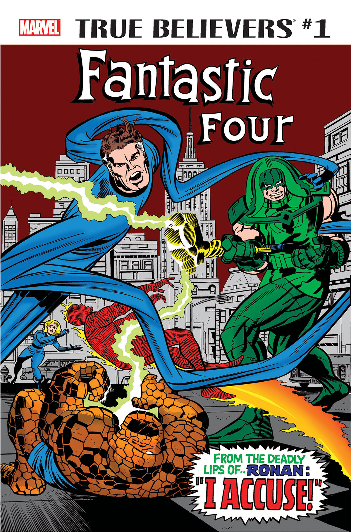 True Believers: Fantastic Four - Ronan & The Kree (2018) #1
