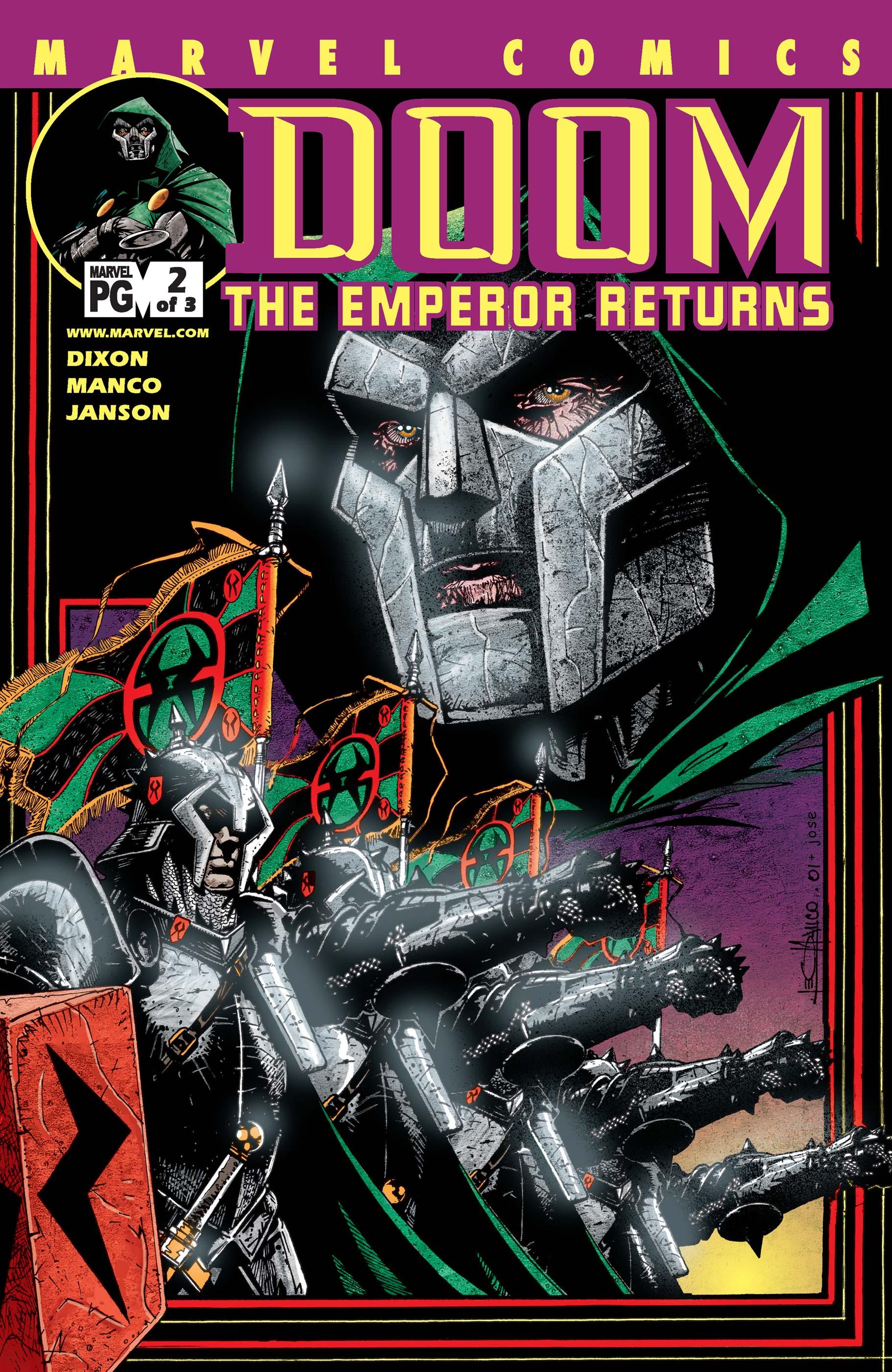Doom: The Emperor Returns (2002) #2