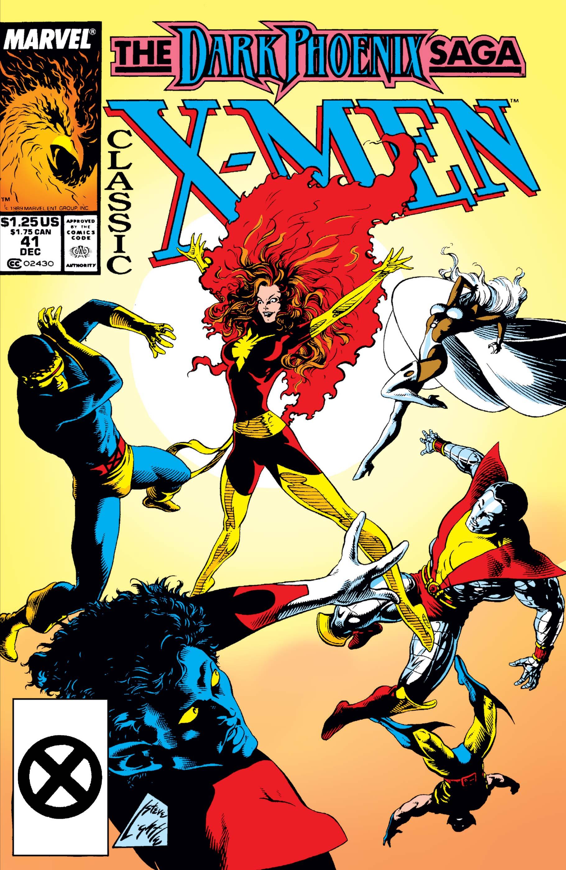 Classic X-Men (1986) #41
