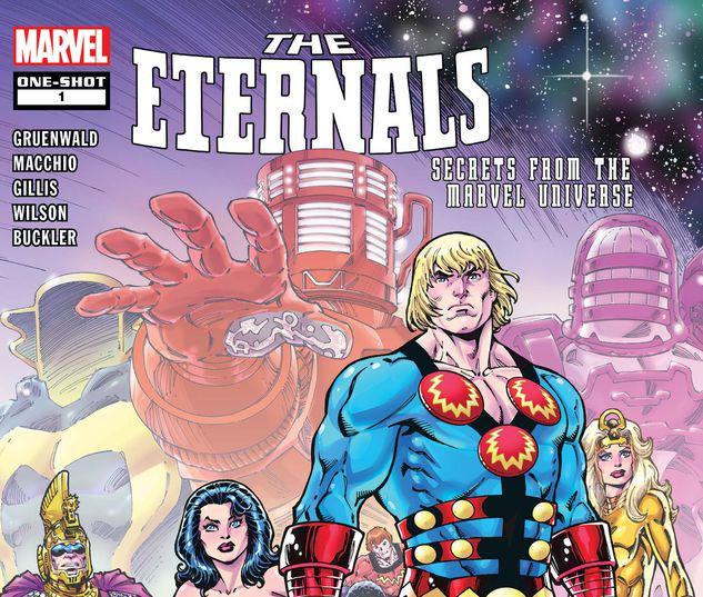 ETERNALS: SECRETS FROM THE MARVEL UNIVERSE 1 #1