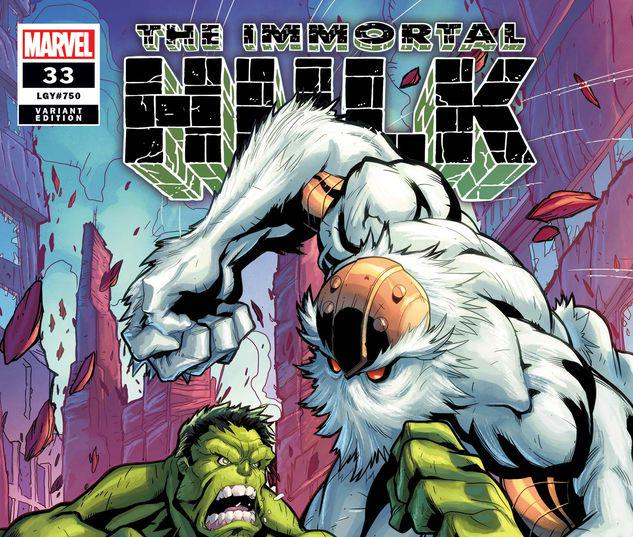 Immortal Hulk #33