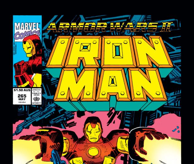 Iron Man (1968) #265 Cover