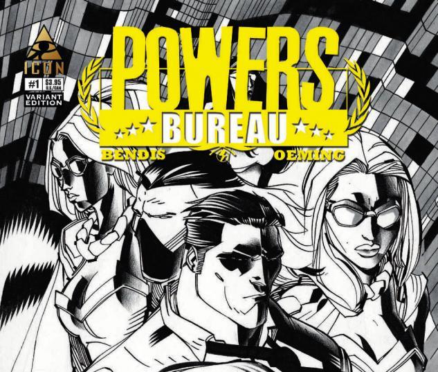 POWERS: BUREAU 1 LAFUENTE VARIANT (1 FOR 20)