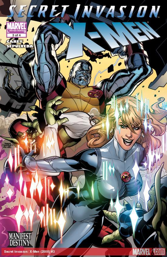 Secret Invasion: X-Men (2008) #3