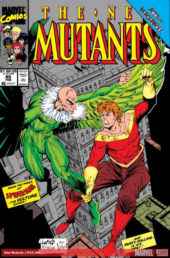 New Mutants (1983) #86
