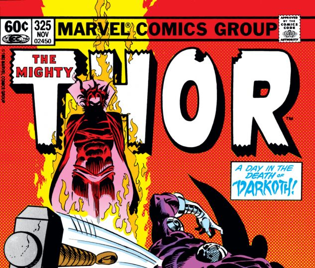 Thor (1966) #325 Cover
