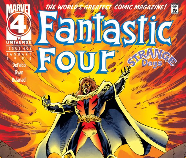 Fantastic Four (1961) #408 Cover
