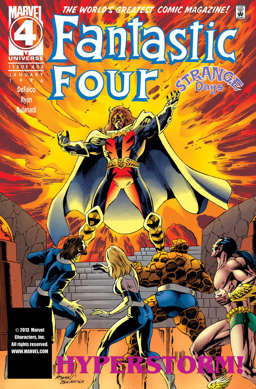 Fantastic Four (1961) #408