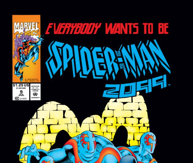 Spider-Man 2099 (1992) #9 Cover