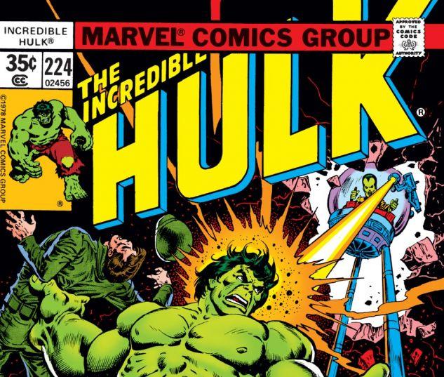 Incredible Hulk (1962) #224 Cover