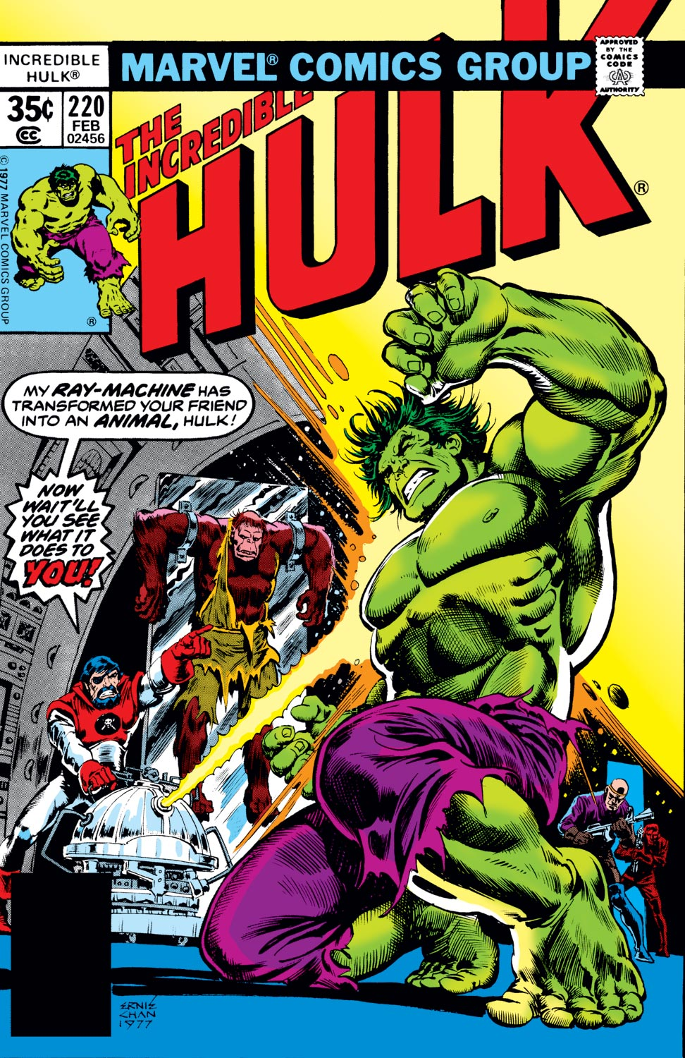 Incredible Hulk (1962) #220